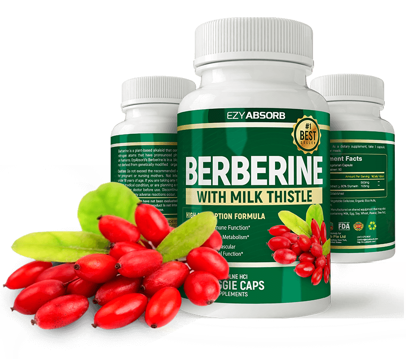 Plant - Berberine - Balance and Stabilize Your Blood Sugar Naturally
